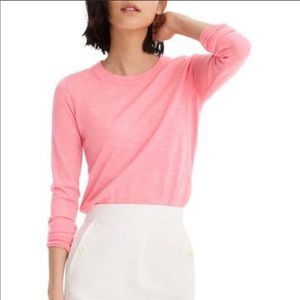 J.Crew Merino Wool Pink Tippi Sweater Medium